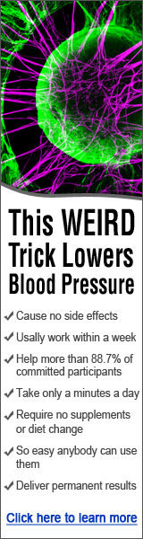This weird trick lowers blood pressure