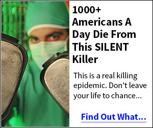 1000+ Americans a day die from this silent killer