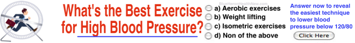 Whats the best exercise for high blood pressure