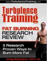 TT Fat Burning Research review