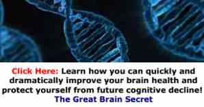 Learn how you can quickly and dramatically improve your brain health and protect yourself from future cognitive decline!