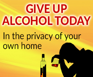 Give Up Alcohol Today - In the privacy of your own home